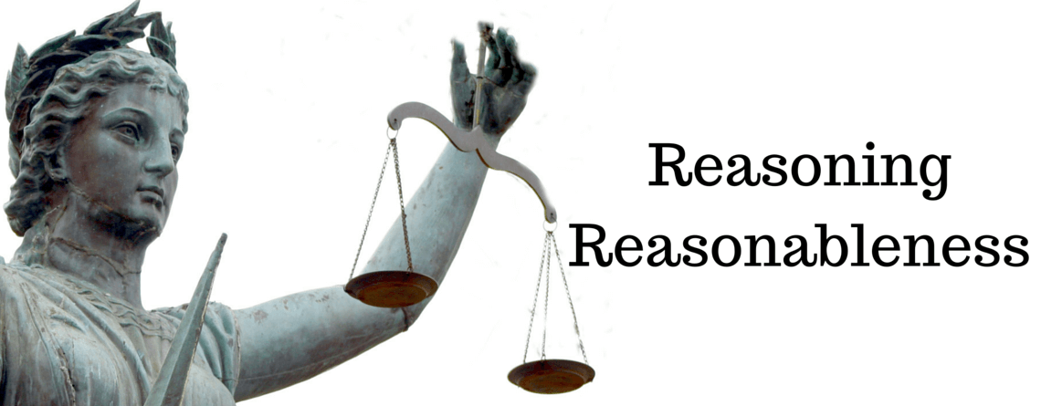 Reasoning reasonableness