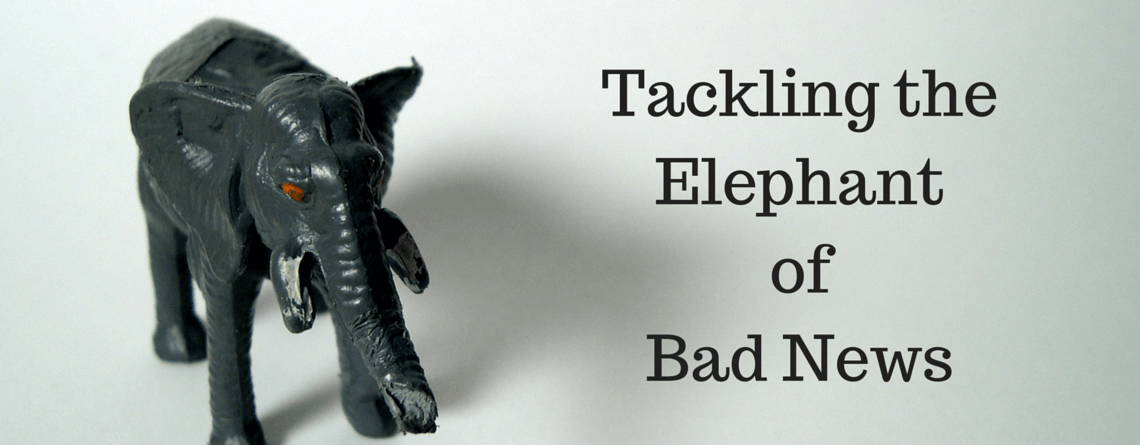 Tackling the Elephant of Bad News