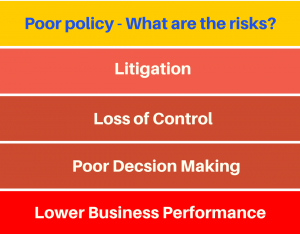Risks of poor policy