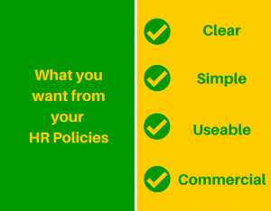 What you want from policy